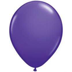 "PURPLE VIOLET 11"" FASHION (100CT)"