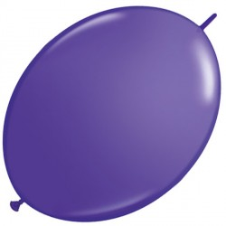 "PURPLE VIOLET 6"" FASHION QUICK LINK (50CT)"