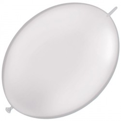 """WHITE 6"""" PEARL QUICK LINK (50CT)"""