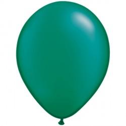 """EMERALD GREEN 5"""" PEARL (100CT)"""