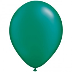 "EMERALD GREEN 11"" PEARL (100CT)"