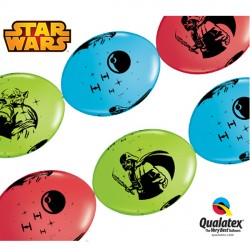 "STAR WARS QUICK LINK 12"" RED, LIME GREEN & ROBIN'S EGG BLUE (50CT)"