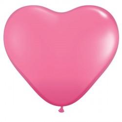 "ROSE HEART 6"" FASHION (100CT)"