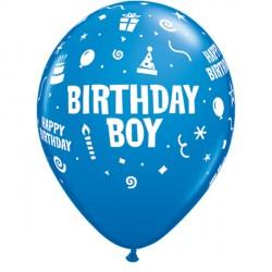 """BIRTHDAY BOY 11"""" DARK BLUE (6X6CT)"""