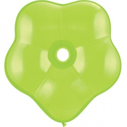 "LIME GREEN GEO BLOSSOM 6"" FASHION (50CT)"