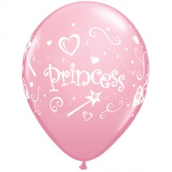 "PRINCESS 11"" PINK (6X6CT)"