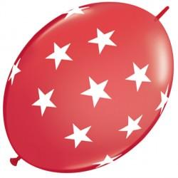 "BIG STARS QUICK LINK 12"" RED (50CT)"