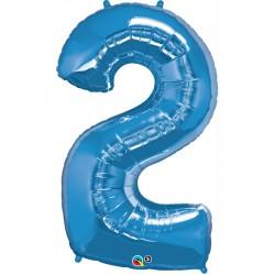 SAPPHIRE BLUE NUMBER 2 SHAPE GROUP D
