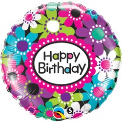 "BIRTHDAY DAISY PATTERNS 18"" PKT"