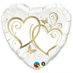 "ENTWINED HEARTS GOLD 36"" JUMBO PKT"