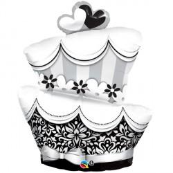 "FUN & FABULOUS WEDDING CAKE 42"" SHAPE GROUP C PKT"