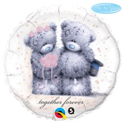 """ME TO YOU TATTY TEDDY TOGETHER FOREVER 18"""" PKT"""
