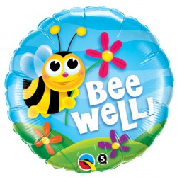 "BEE WELL! FLOWERS 18"" PKT"