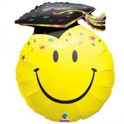 """SMILE FACE PARTY GRAD 36"""" SHAPE GROUP B PKT"""