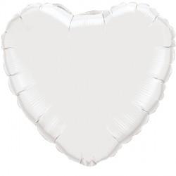 """WHITE HEART 4"""" FLAT Q"""
