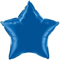 """DARK BLUE STAR 20"""" FLAT Q"""