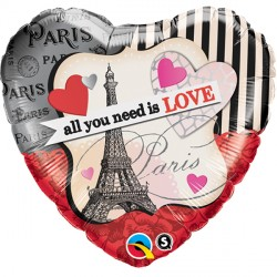 "ALL YOU NEED IS LOVE 18"" PKT"