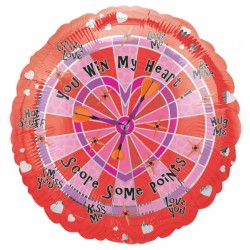 "LOVE DART BOARD 18"" SALE"