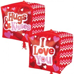 LOVE, HUGS & KISSES CUBEZ G20 PKT