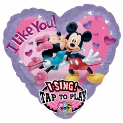 MICKEY & MINNIE LOVE JUMBO SING A TUNE P75 PKT