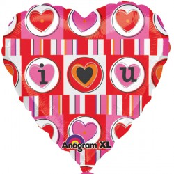 "I HEART YOU 18"" SALE"