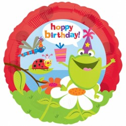 "BIRTHDAY FROGS & BUGS 18"" SALE"