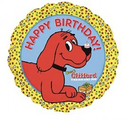 "CLIFFORD HAPPY BIRTHDAY 18"" SALE"
