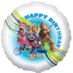"ZINGZILLAS BIRTHDAY 18"" SALE"