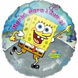 """SPONGEBOB HERE I COME 18"""" SALE"""