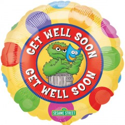 "SESAME STREET GROUCH GET WELL 18"" SALE"