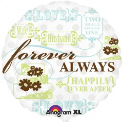 "FOREVER ALWAYS 18"" SALE"
