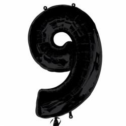 BLACK NUMBER 9 SHAPE SALE