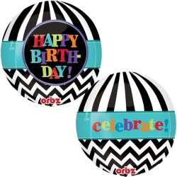 CHEVRON BIRTHDAY ORBZ G20 PKT