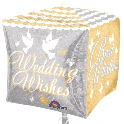SHIMMERING WEDDING WISHES CUBEZ G20 PKT