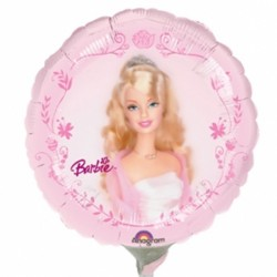 "BARBIE PORTRAIT 9"" A20 INFLATED WITH CUP & STICK"