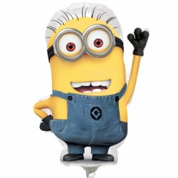 MINIONS DAVE MINI SHAPE A30 INFLATED WITH CUP & STICK