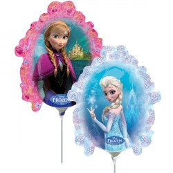 FROZEN MIRROR MINI SHAPE A30 INFLATED WITH CUP & STICK