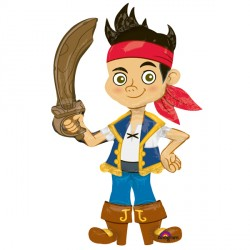 JAKE & THE NEVERLAND PIRATES AIRWALKER P93 PKT