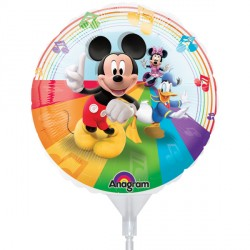"MICKEY MOUSE CLUBHOUSE 9"" A20 INFLATED WITH CUP & STICK"