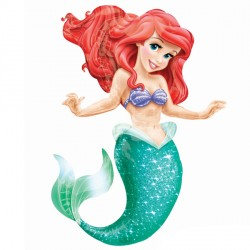 DISNEY PRINCESS LITTLE MERMAID AIRWALKER P93 PKT