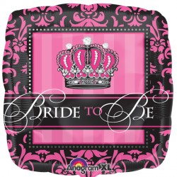 CROWNED BRIDE TO BE STANDARD S40 PKT