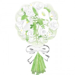 BOUQUET FOR THE BRIDE SHAPE P35 PKT