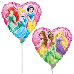 """DISNEY PRINCESS GARDEN 9"""" A20 INFLATED WITH CUP & STICK"""