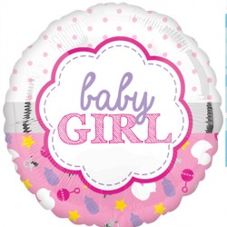 BABY GIRL SCALLOP STANDARD S40 PKT