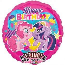 MY LITTLE PONY HAPPY BIRTHDAY JUMBO SING A TUNE P75 PKT