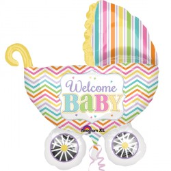 BABY BRIGHTS CARRIAGE SHAPE P35 PKT