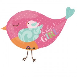 TWEET BABY GIRL BIRD SHAPE P35 PKT