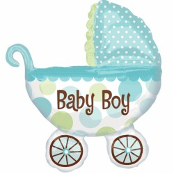 BABY BUGGY BOY SHAPE P35 PKT
