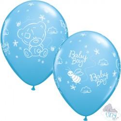 "ME TO YOU TINY TATTY TEDDY BABY BOY 11"" PALE BLUE (25CT)"