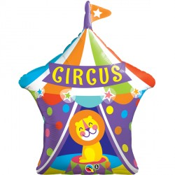 "BIG TOP CIRCUS LION 36"" SHAPE GROUP C PKT"